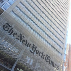 Photo taken at New York Times Building by Derek on 5/30/2015