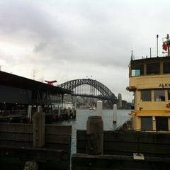 Photo taken at Circular Quay Ferry Terminal by Derek on 1/20/2013