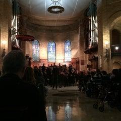 Photo taken at St. Paul's Chapel - Columbia University by Serra A. on 10/7/2014