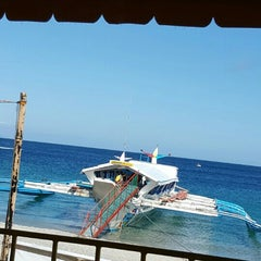 Photo taken at Boat ride to Batangas by Houssam H. on 5/15/2015