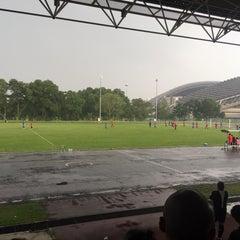 Photo taken at Stadium Mini Shah Alam by Nasyiruddin A. on 4/4/2015