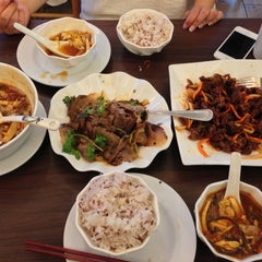 Photo taken at New Peace Chinese Restaurant by Kyle S. on 8/13/2013