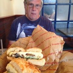 Photo taken at Noah's New York Bagels by Corey N. on 6/28/2015