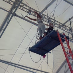 Photo taken at Trapeze School New York (TSNY) - Washington DC by Sabrina M. on 1/24/2013