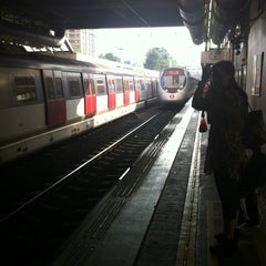 Photo taken at MTR Sha Tin Station 沙田站 by Kyle O. on 10/19/2012