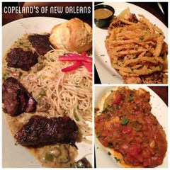 Photo taken at Copeland's of New Orleans by Jannie on 2/18/2013