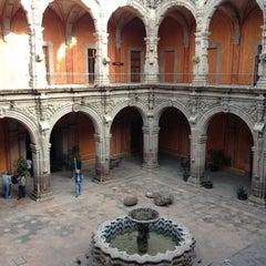 Photo taken at Museo de Arte de Queretaro by Alma Z. on 12/30/2012