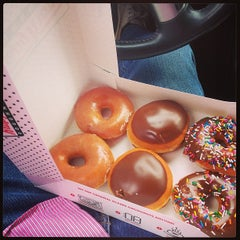 Photo taken at Krispy Kreme Doughnuts by Kyle A. on 1/29/2013
