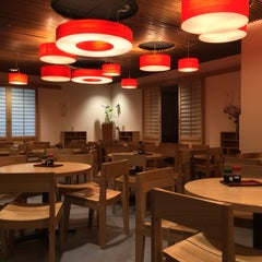 Photo taken at Googleplex - Tetsuwan Atom Cafe by Ryan H. on 3/10/2014