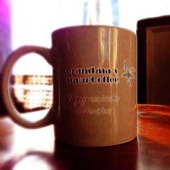 Photo taken at Grandma's Coffee House by Erik B. on 9/21/2014