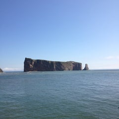 Photo taken at Rocher Percé by Christian M. on 8/10/2013