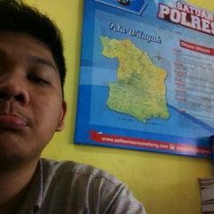 Photo taken at SATLANTAS Polres Malang by ALIEF H. on 6/11/2013