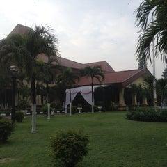 Photo taken at Gedung Balai Kartika by Eka N. on 1/3/2014