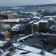 Photo taken at Holiday Inn Portland-By The Bay by Blake C. on 1/8/2013