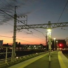 Photo taken at 千住大橋駅 (Senjuōhashi Sta.) (KS05) by petsounds on 11/3/2012