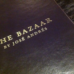 Photo taken at The Bazaar by José Andrés by Patrick H. on 12/17/2012