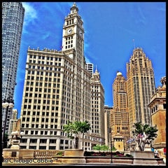 Photo taken at Wrigley Building by Chicago C. on 7/23/2013