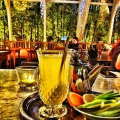 Photo taken at The House Café by Burak Ç. on 12/4/2012