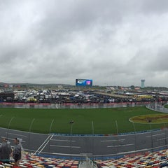 Photo taken at Charlotte Motor Speedway by Jesse M. on 10/10/2015