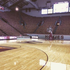 Photo taken at Cassell Coliseum by Dave W. on 1/4/2016