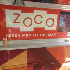 Photo taken at Zoca: Taco + Burrito Truck by Justin J. on 2/28/2013