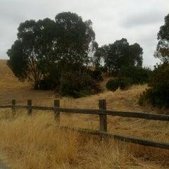 Photo taken at Bedwell Bayfront Park by Yasemin on 7/1/2012