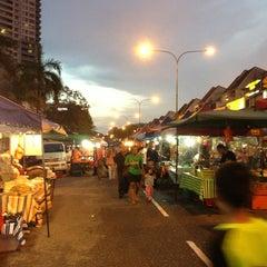 Photo taken at Pasar Malam TTDI by AN N. on 5/26/2013