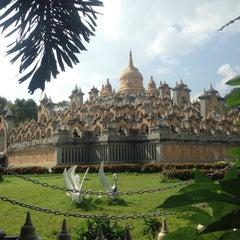 Photo taken at วัดป่ากุง (วัดประชาคมวนาราม) by BoBbY N. on 9/19/2015