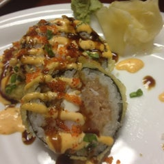 Photo taken at Happi Sushi by Megan B. on 12/7/2012