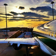 Photo taken at Aeroporto di Venezia Marco Polo (VCE) by Simone A. on 1/4/2013
