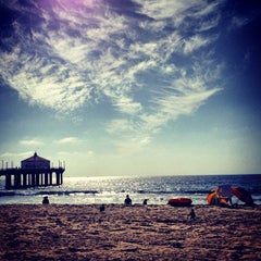 Photo taken at Manhattan Beach Pier by Parker D. on 10/4/2012