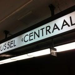 Photo taken at Gare de Bruxelles-Central / Station Brussel-Centraal by Willem v. on 5/27/2013
