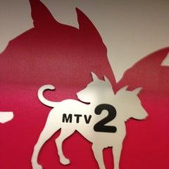 Photo taken at MTV2/mtvU by kathi p. on 1/8/2013