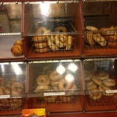 Photo taken at Tribeca Bagels by Owen R. on 4/5/2013
