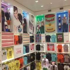 Photo taken at UNIQLO by Owen R. on 4/6/2013
