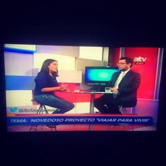 Photo taken at ATV Canal 9 by Analucia R. on 9/18/2014