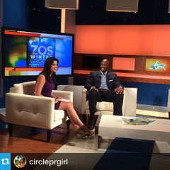 Photo taken at NBC 6 South Florida by COCOACHiC Beauty T. on 12/16/2014