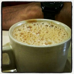 Photo taken at Kamat's Restaurant by Ali T. on 1/26/2013