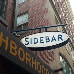 Photo taken at Sidebar by Kevin F. on 11/8/2014