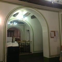 Photo taken at Meson del Jobito Restaurante by Jocelyn E. on 1/17/2013