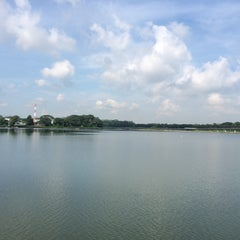Photo taken at Lower Seletar Reservoir by Jingwen P. on 6/1/2015
