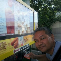 Photo taken at SONIC Drive In by Gina F. on 8/20/2013