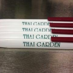 Photo taken at Thai Garden by Chris B. on 4/12/2013