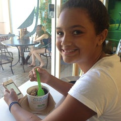 Photo taken at NuYo Frozen Yogurt by Tony G. on 9/8/2013
