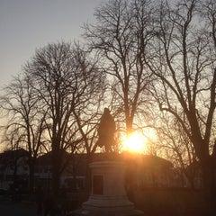Photo taken at Place Favre by Jeremy T. on 3/12/2014