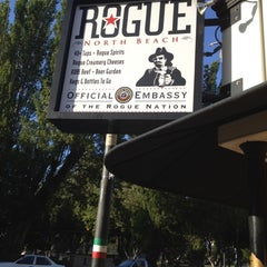 Photo taken at Rogue Ales Public House by Matt G. on 5/15/2012