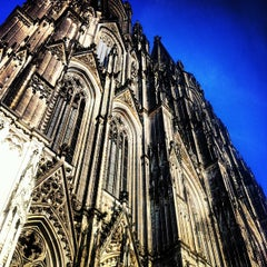 Photo taken at Kölner Dom by Paco B. on 7/26/2013