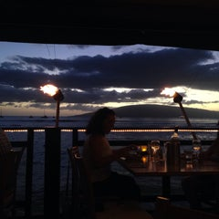 Photo taken at Lahaina Fish Co by Kathleen on 11/16/2015