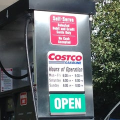 Photo taken at Costco Gas Station by C.Y. L. on 10/21/2012