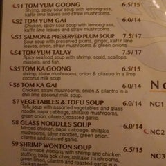 Photo taken at Thai On Main by Trese C. on 10/24/2014